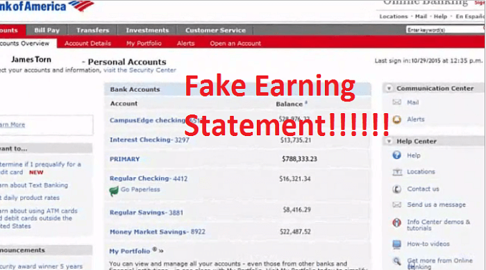 algomaster fake earning