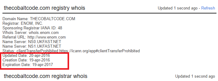 cobalt code scam