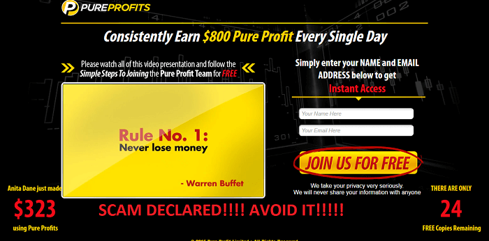 pure profit software review