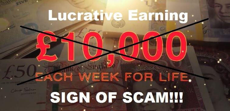 millionaire trader scam