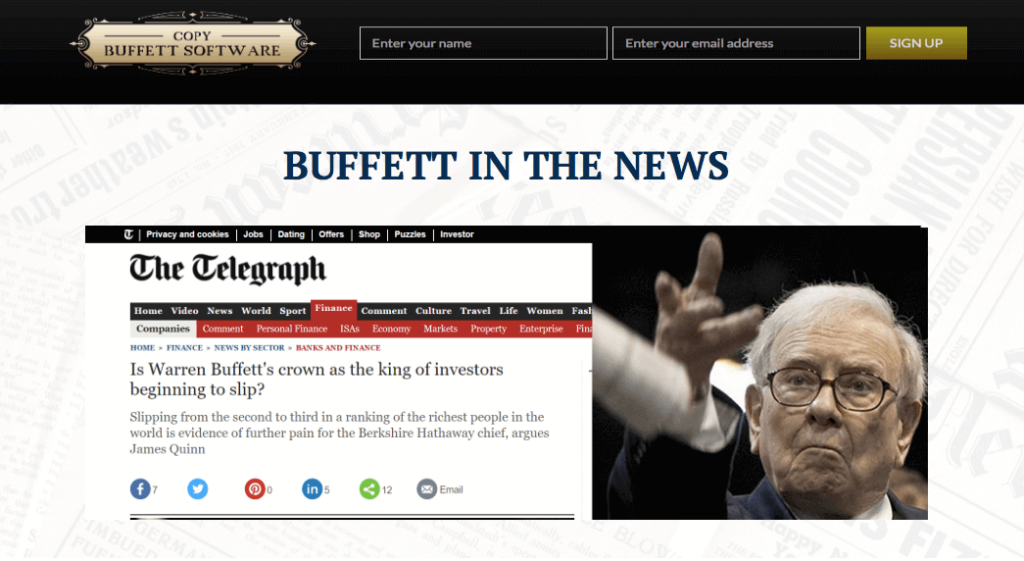 copy buffett review