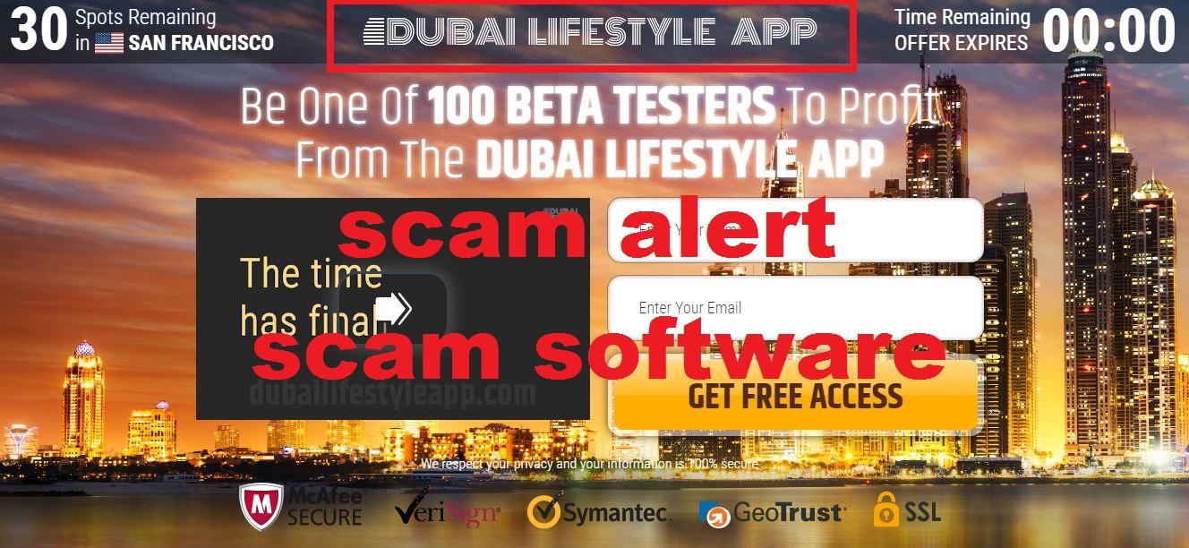 dubai lifestyle app scam alert