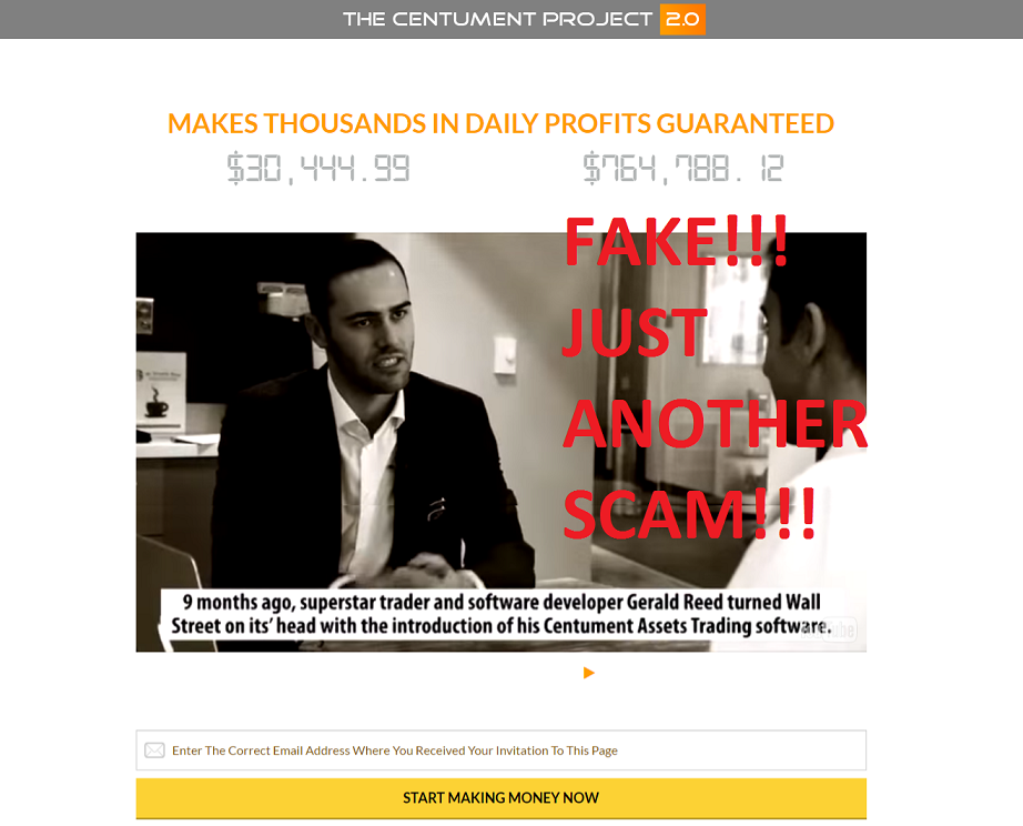 centument project 2 scam