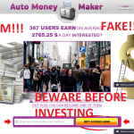 Auto Money Maker Is Confirmed Scam! Find Out Why!