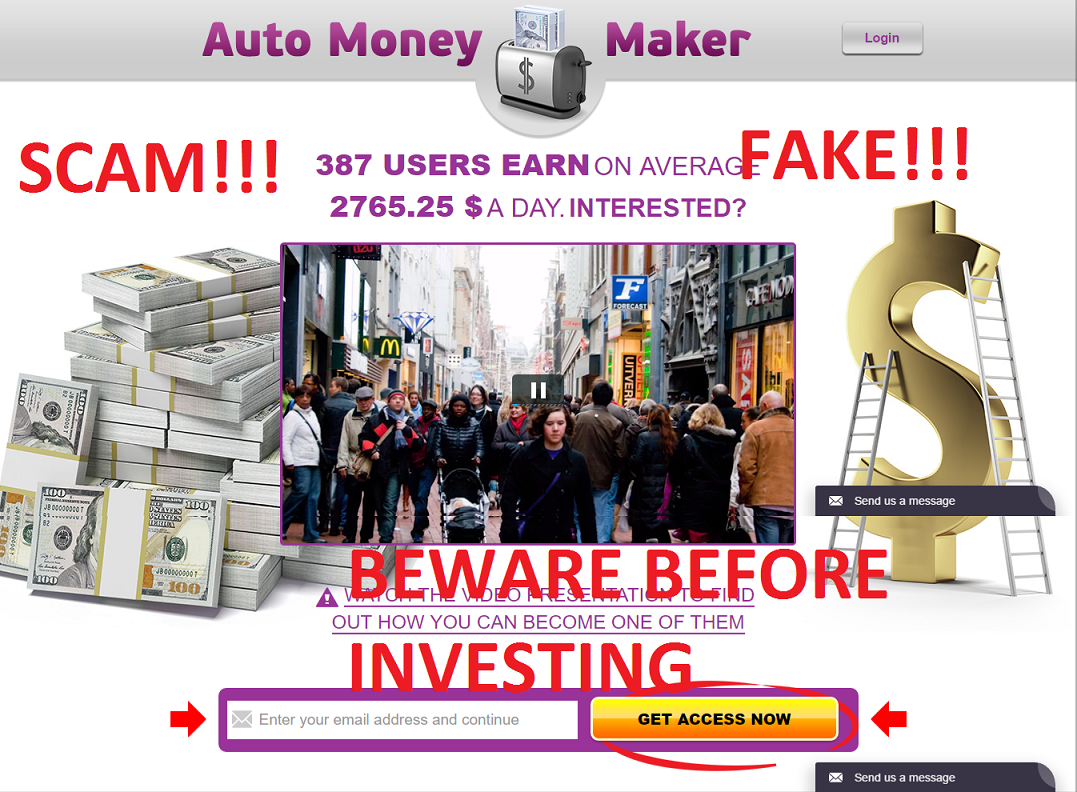 auto money maker scam