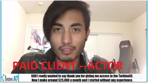 paid actor