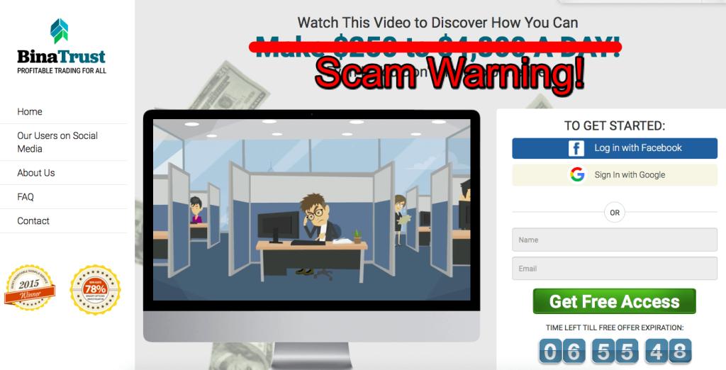 binatrust scam