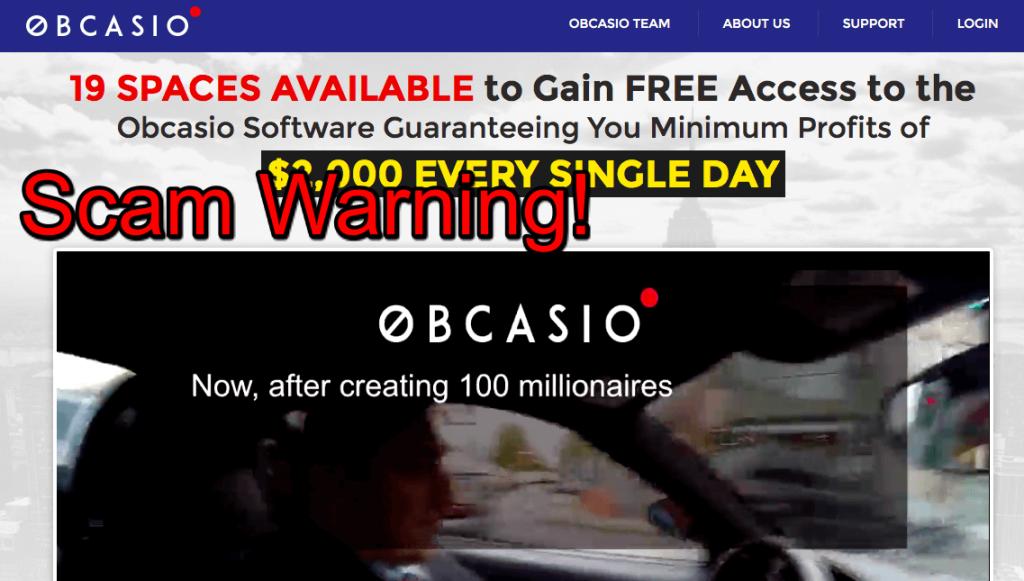 obcasio scam