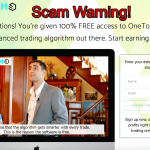 OneTouch Trade Review – Another Scam System? Yes!