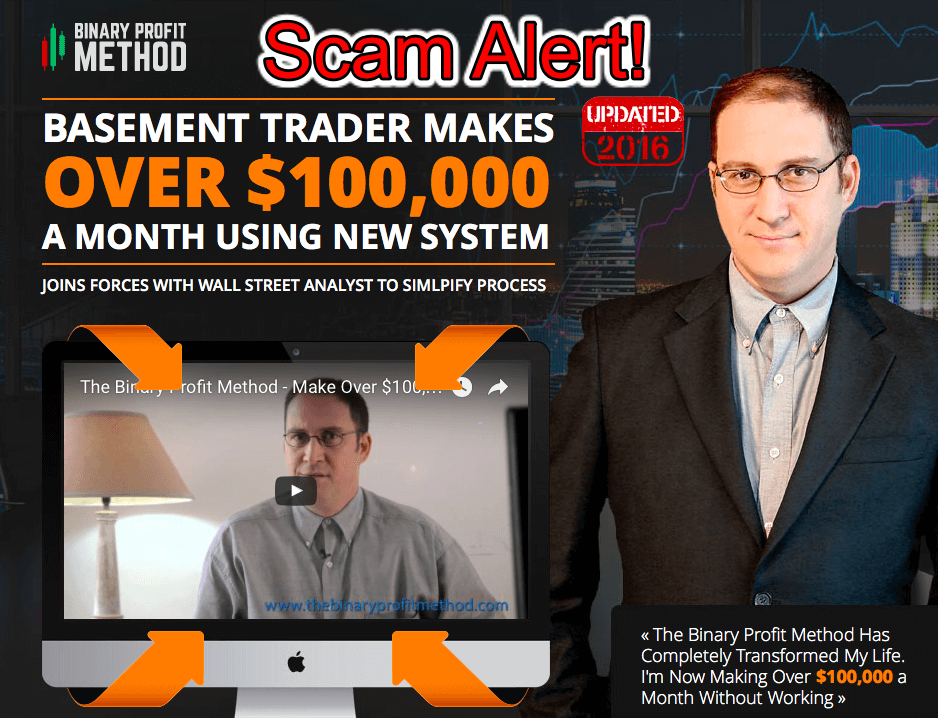 binary profit method scam