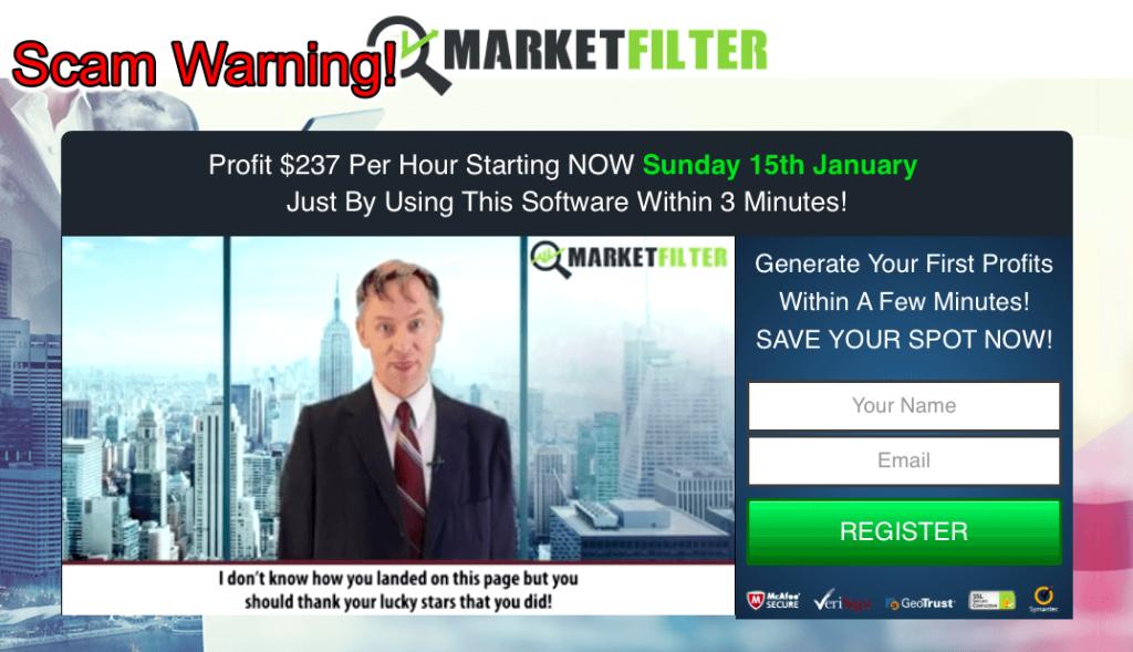 market filter scam