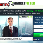 Market Filter Review – Is Market Filter 3.1 Scam Software?