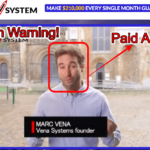 Vena System Review – Another Scam? Yes! We Have Proofs!