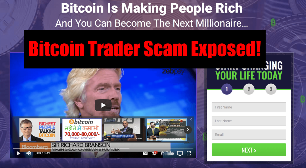 Bitcoin Trader Review - Confirmed Scam Exposed With Proofs!