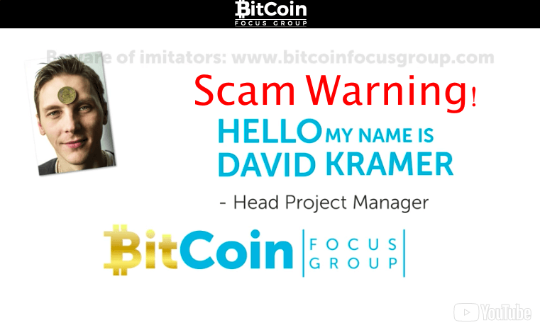 bitcoin focus group scam