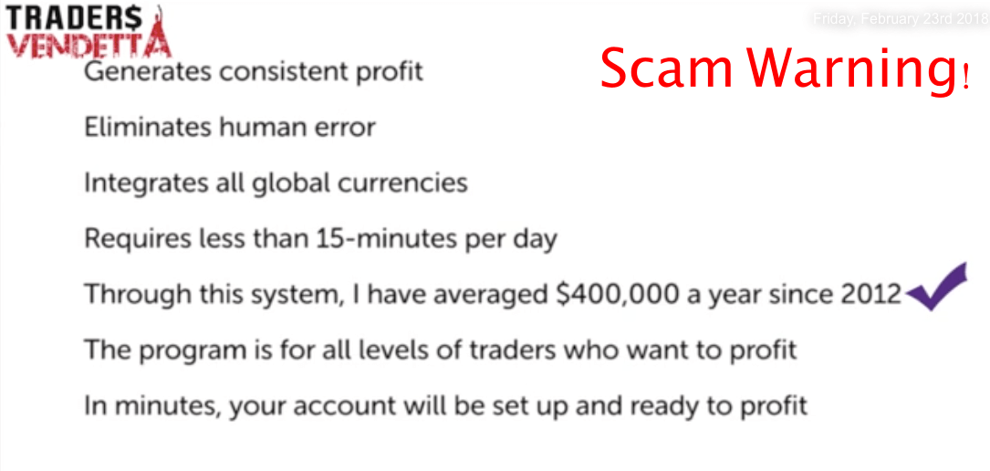 traders vendetta scam review