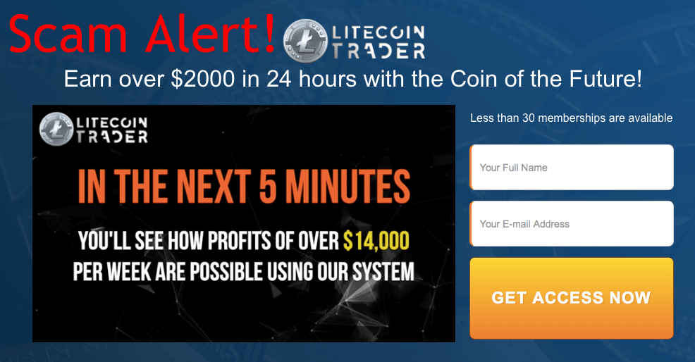 Litecoin Trader Review - Just Another Scam To Avoid {Proofs Attached}