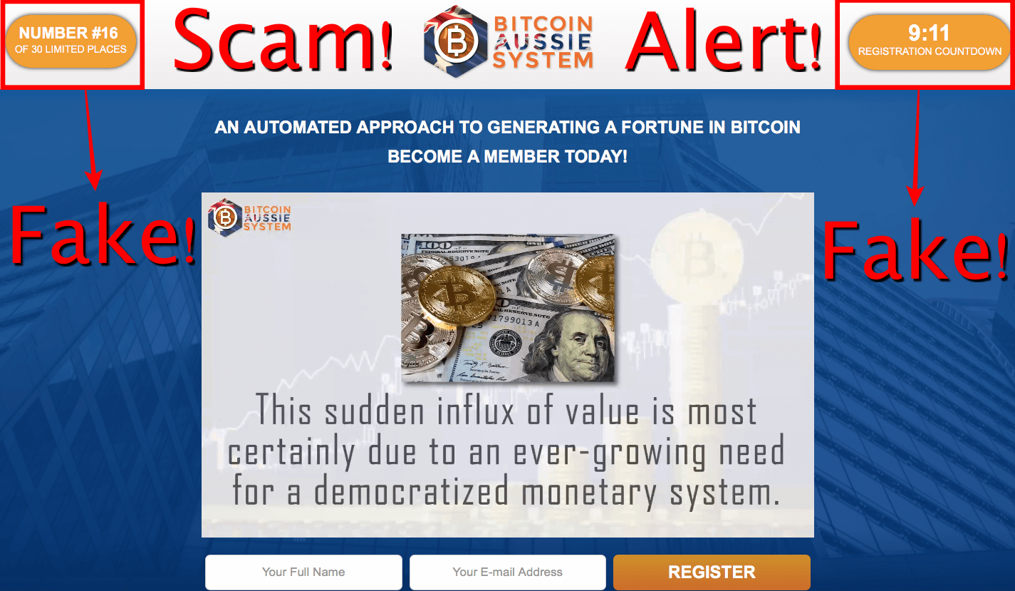 Bitcoin Aussie System Review - Another Scam From Con Artists!