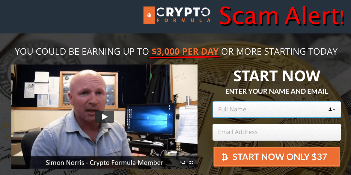 Crypto Formula Review - Scam Exposed With Undeniable Proofs