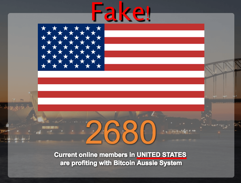 fake country shown