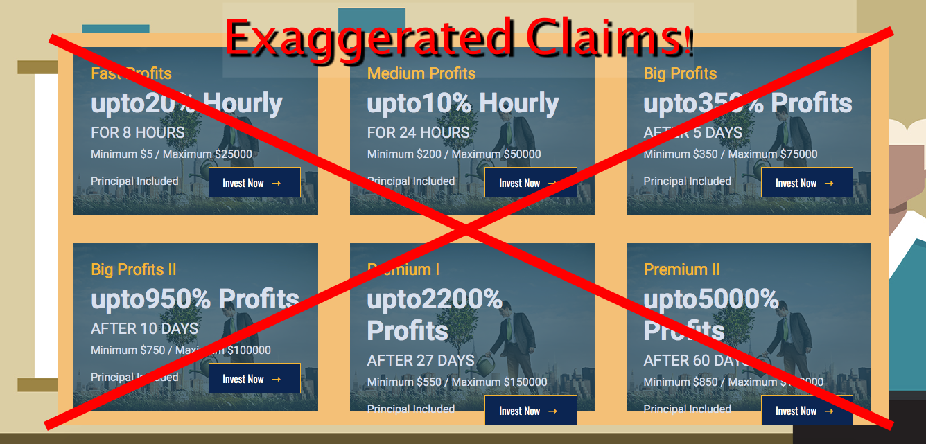 fake earnings meprofits
