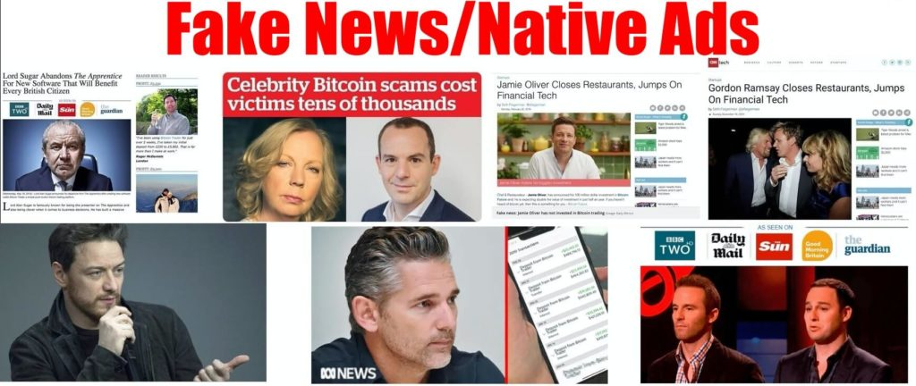 bitcoin pro fake news ads