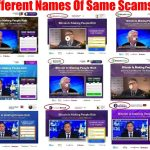 different names of same scams