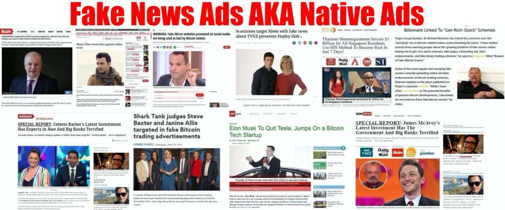 bitcoin future fake news ads